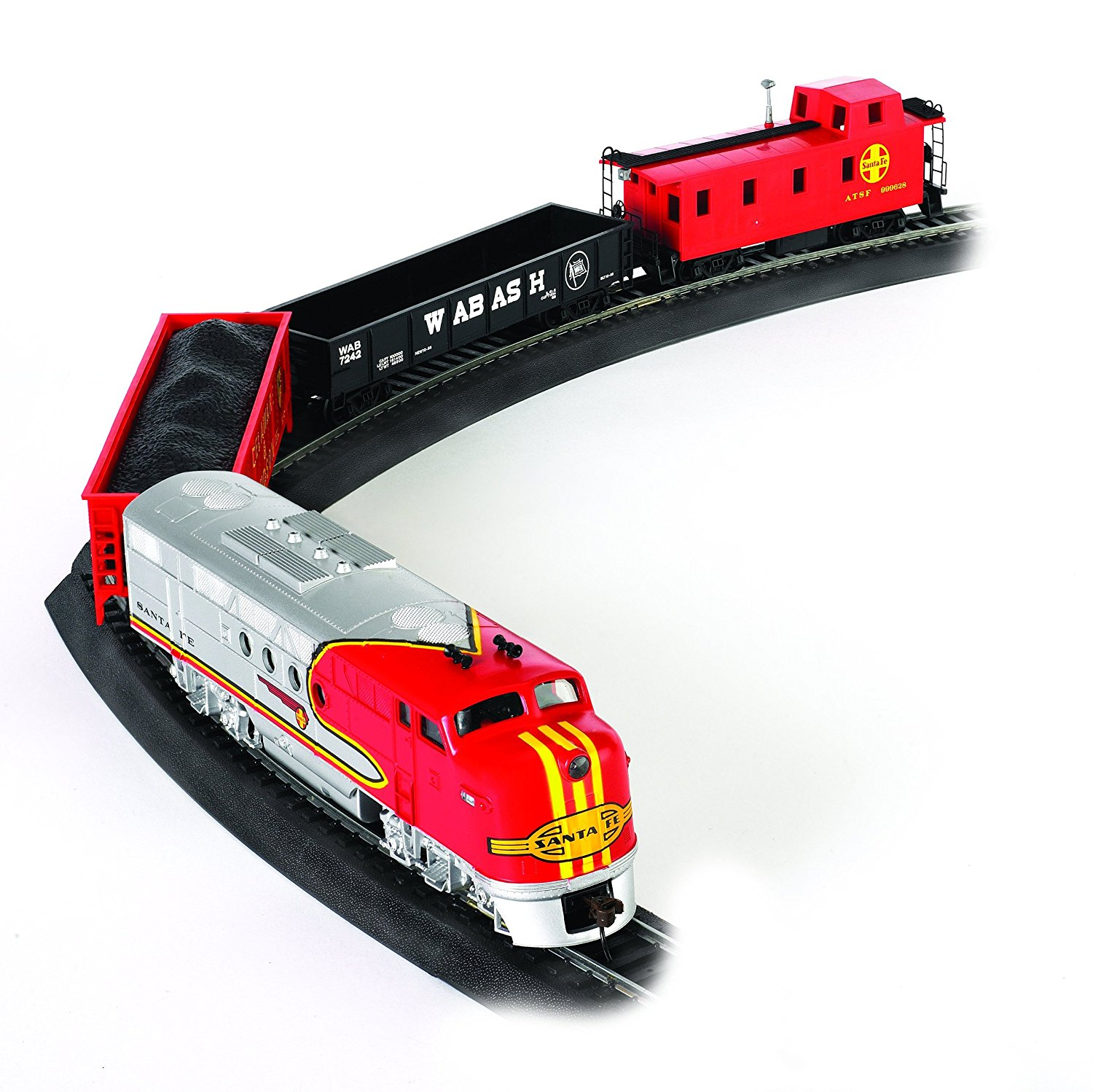 Best Train Sets Bachmann Trains Santa Fe Flyer Set