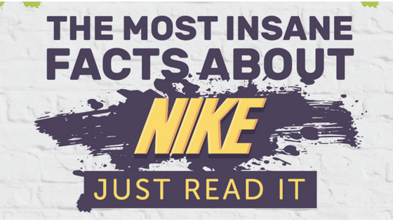 The Most Insane Facts About Nike (Infographic)
