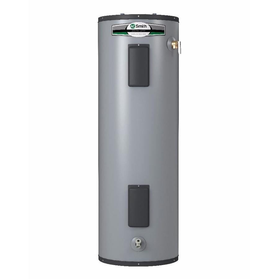 Electric Water Heater Reviews-A.O. Smith Signature Select 55-Gallon 9-Year Limited Tall Electric Water Heater