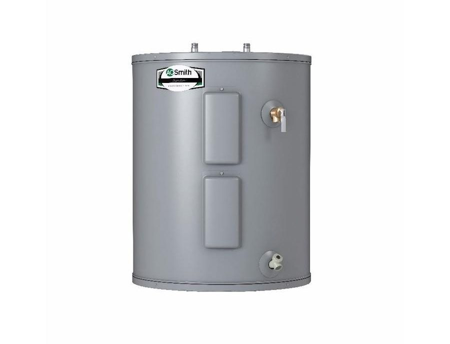 Electric Water Heater Reviews-A.O. Smith Signature 28-Gallon 6-Year Lowboy Electric Water Heater