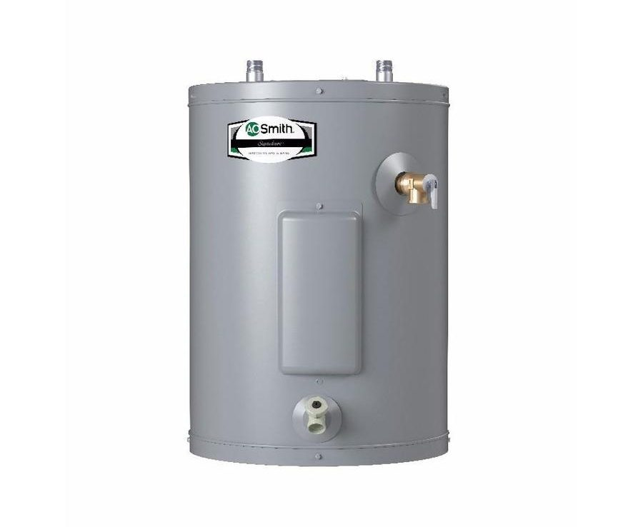 Electric Water Heater Reviews-A.O. Smith Signature 19-Gallon 6-Year Regular Point Of Use Electric Water Heater