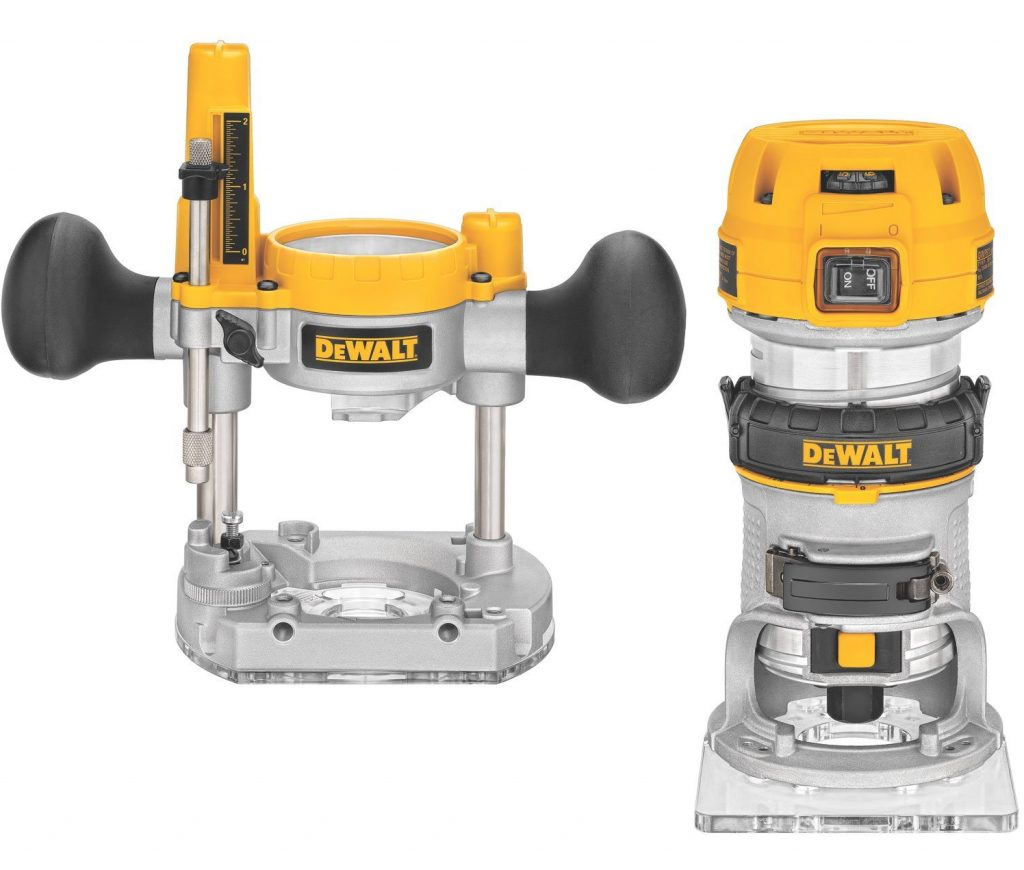 Wood Router Reviews-DEWALT DWP611PK Variable Speed Compact Router Combo Kit