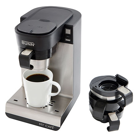 Bunn Coffee Makers-Single Cup My Cafe® MCU