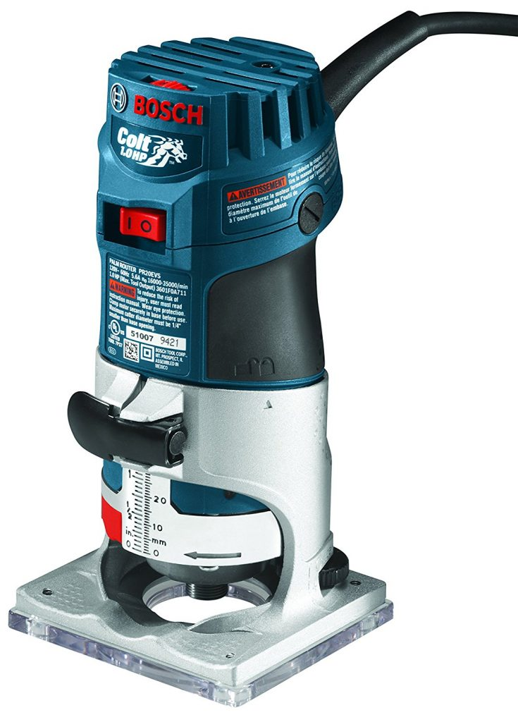 Wood Router Reviews-Bosch Palm Router PR20EVS
