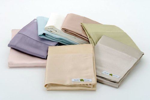 Silk Pillowcases-Kumi Kookoon Charmeuse Silk Pillowcase