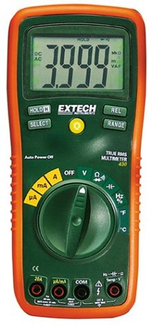 Best Multimeter-Extech EX430 True RMS Standard Autoranging Multimeter