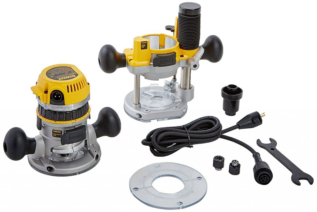 Wood Router Reviews-DEWALT 12-AMP Wood Router Kit DW618PK