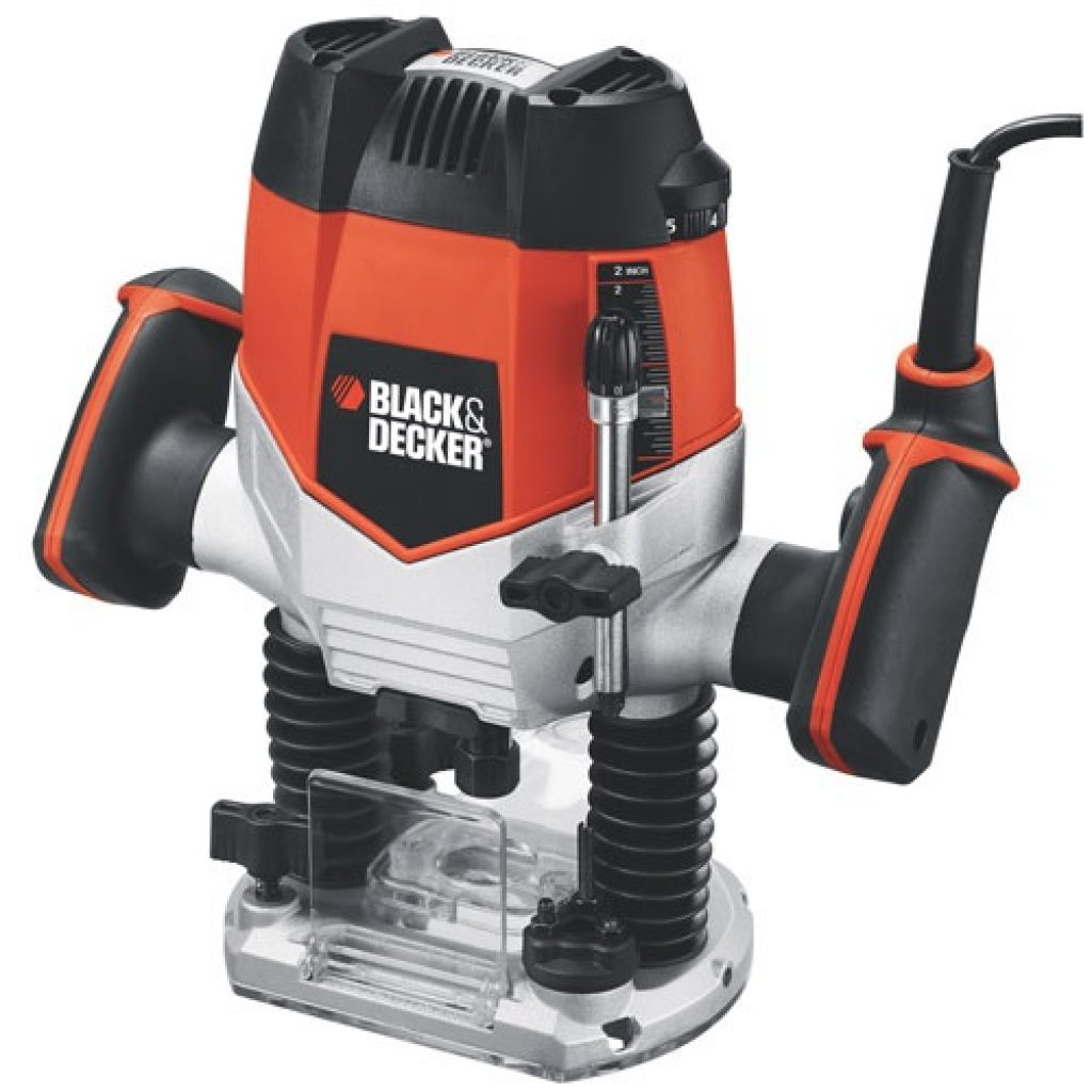 Wood Rounter Reviews-Black and Decker Plunge Router RP250