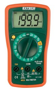Best Multimeter-Extech MN35 Mini Manual Ranging MultiMeter