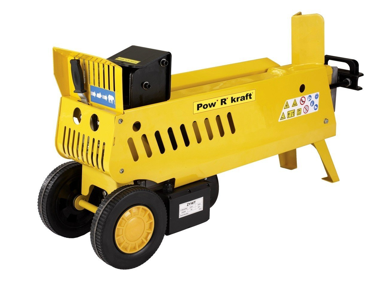 Best Log Splitter-Pow' R' Kraft 65575 7-Ton 15 amp 2-Speed Electric Log Splitter