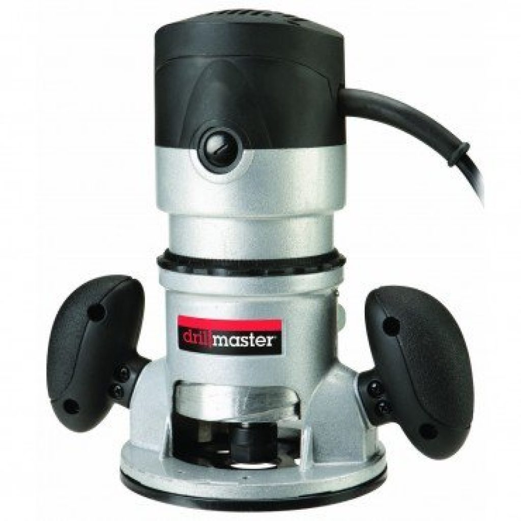 Wood Router Review-Drill Master 2 HP Fixed Base Router