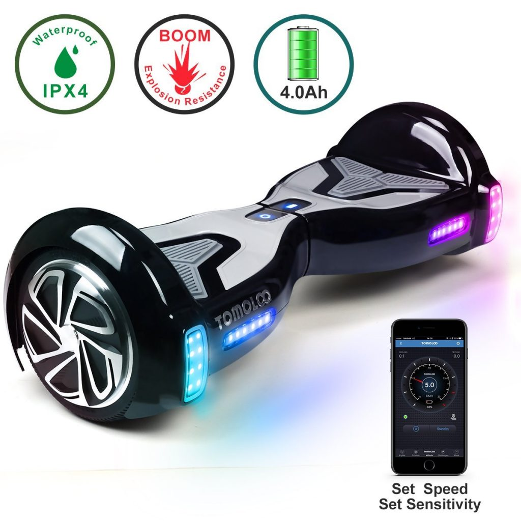 Best Hoverboard Brands-TOMOLOO Hoverboard