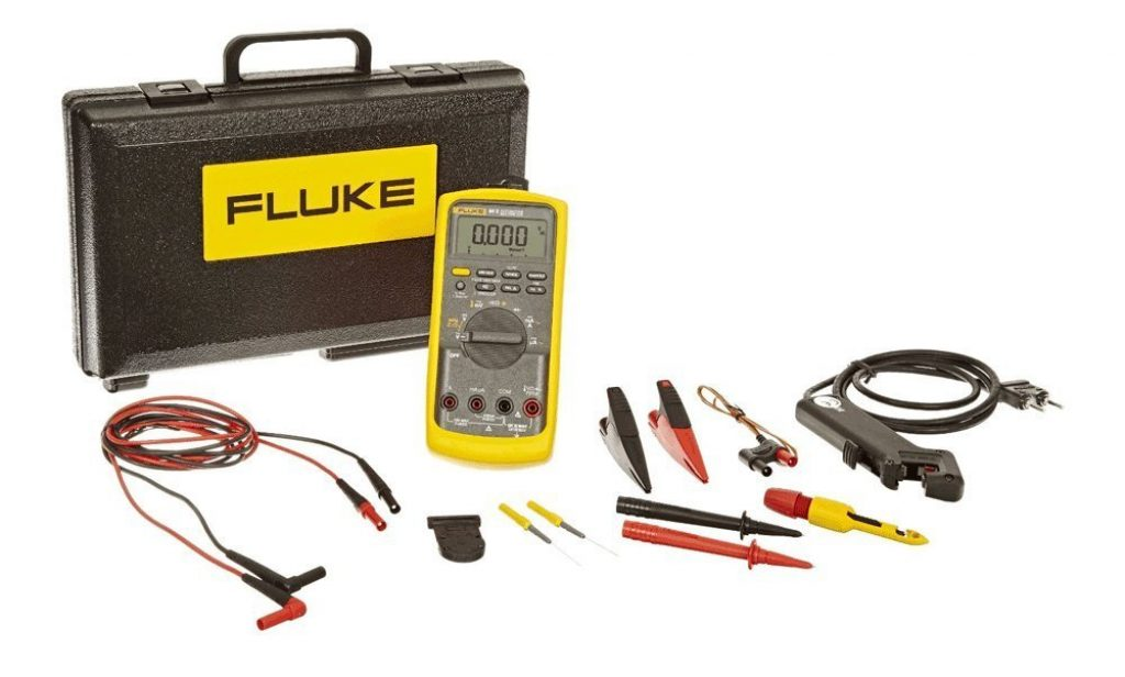 Best Multimeter-Fluke 88 V/A KIT Automotive Multimeter Combo Kit