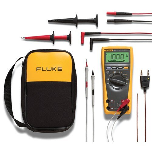 Best Multimeter-Fluke 179 6-Piece Industrial Electronics Multimeter Combo Kit