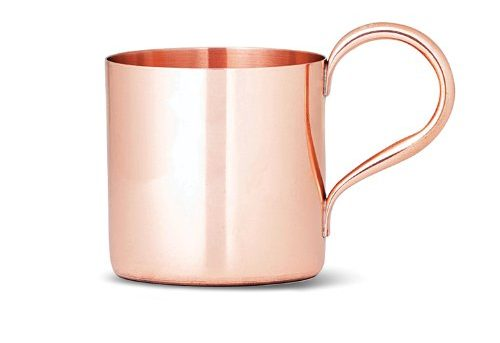 Best Copper Mule Mugs-Cocktail Kingdom Unmarked Copper Mug