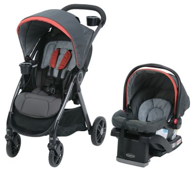Graco Car Seat-FastAction Fold DLX Travel System