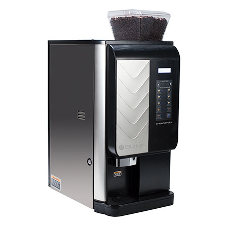 Bunn Coffee Makers-CRESCENDO, 120V 60HZ Bean-To-Cup Espresso