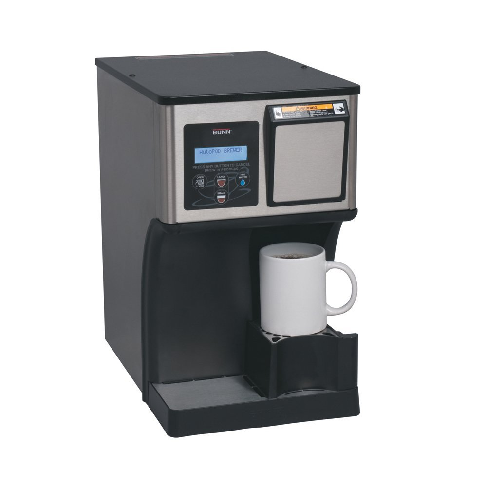 Bunn Coffee Makers-My Café® AP AutoPOD® Auto Eject Pod Brewer