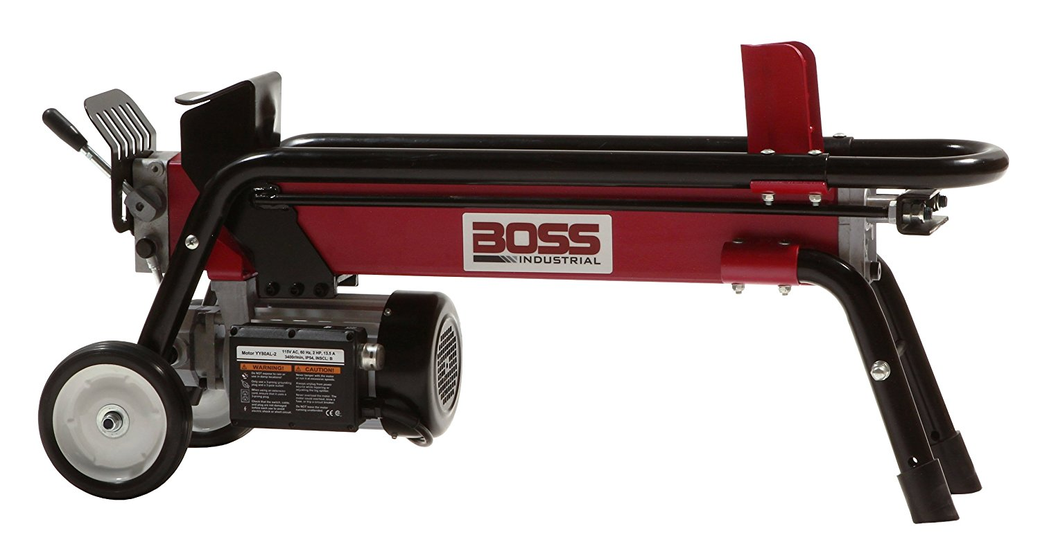 Best Log Splitter-Boss Industrial ES7T20 | Electric Wood Splitter