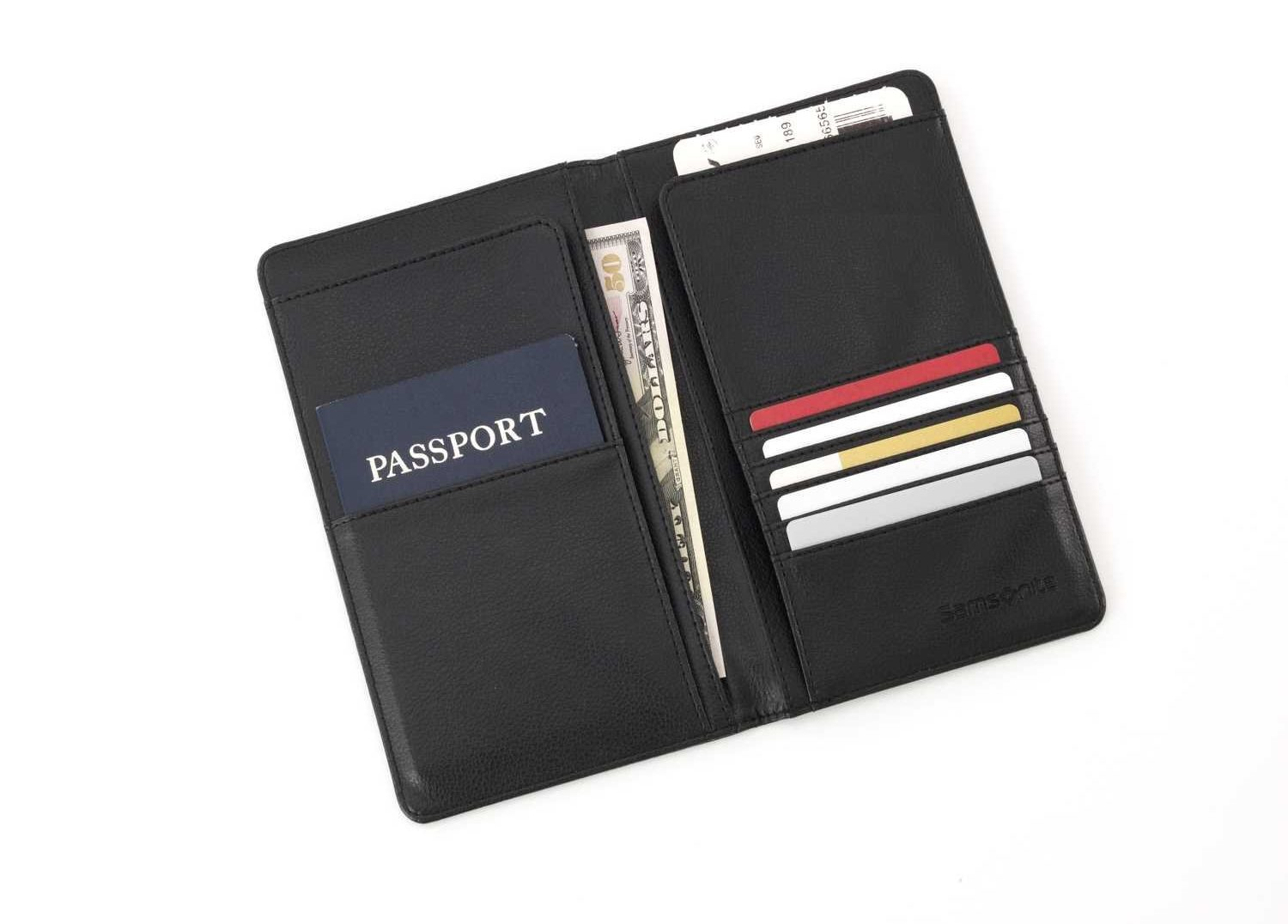 Best Passport Holder-Samsonite Luggage Travel Wallet