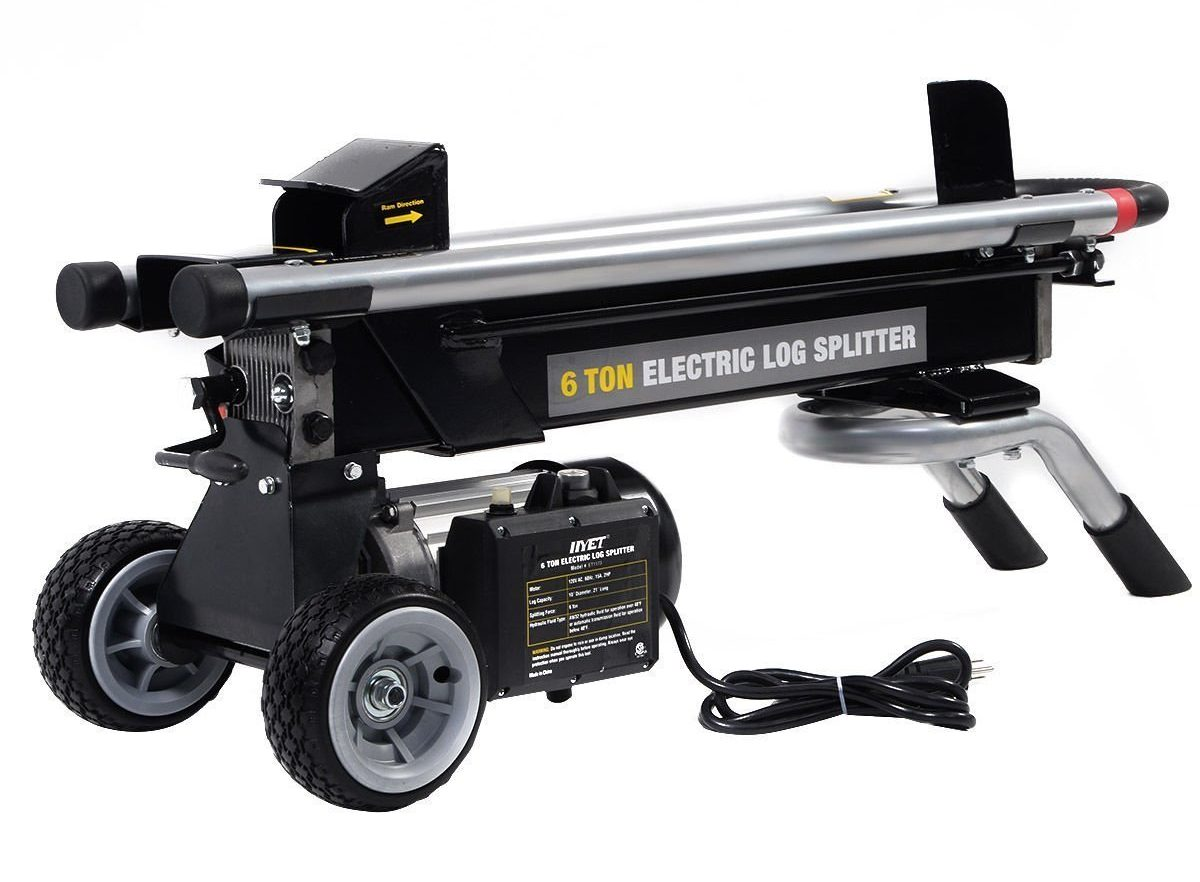 Best Log Splitter-Goplus Electric Hydraulic Portable Splitter