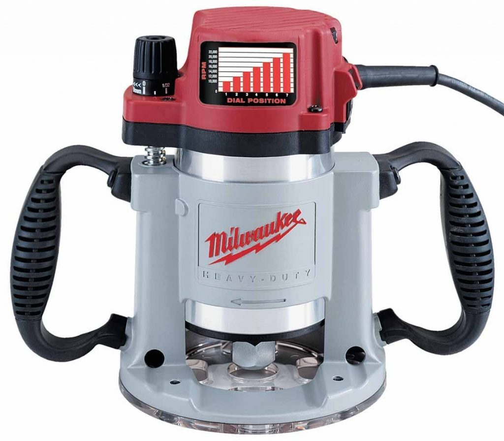 Wood router reviews-Milwaukee 15 Amp 5625-20