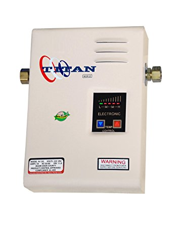 Tankless Water Heater Reviews-Titan SCR2 N-120 (Electric)