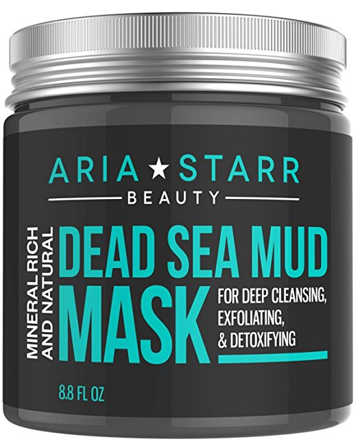 Best Blackhead Remover- Aria Starr Beauty Natural Dead Sea Mud Mask