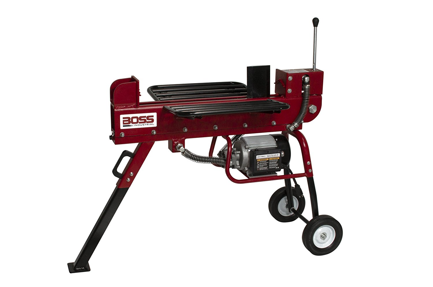 Best Log Splitter-Boss Industrial ED10T20 | 10-Ton Electric Wood Splitter