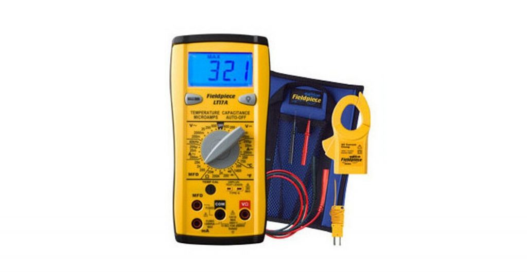 Best Multimeter-Fieldpiece LT17A Classic Style Digital Multimeter