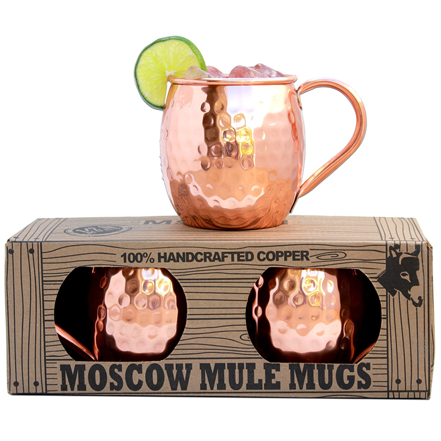 Best Copper Mule Mugs-Morken Barware Moscow Mule Mugs