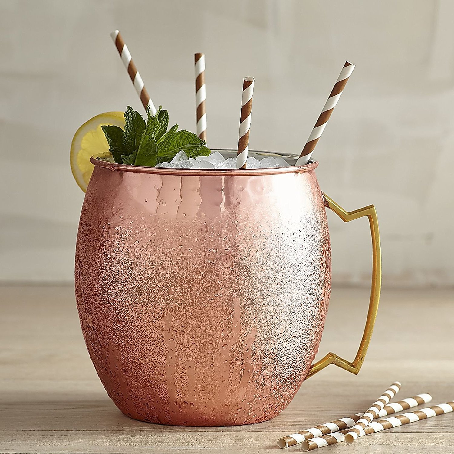 Best Copper Mule Mugs-Extra Large Mega Moscow Mule Mug