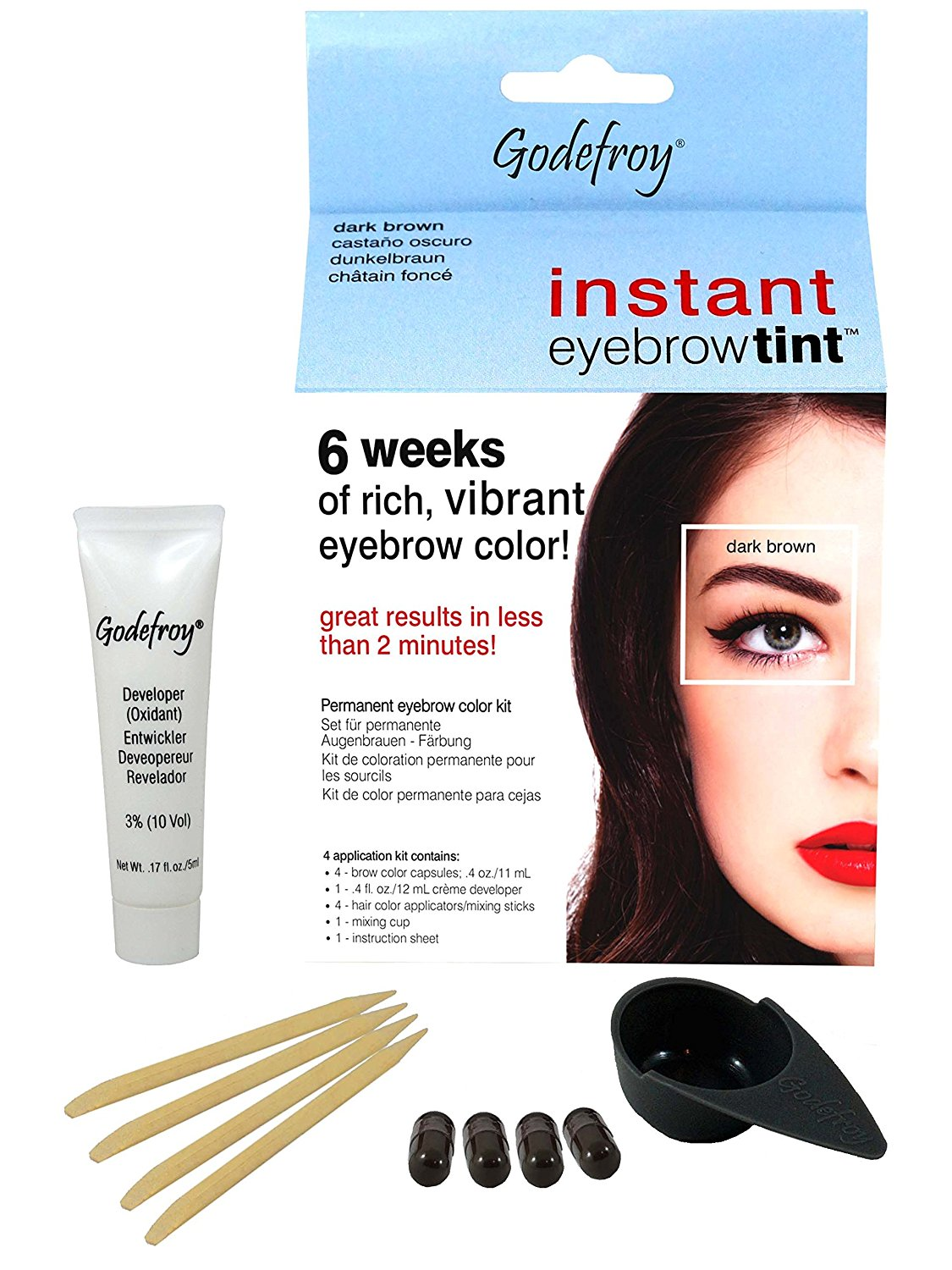 Best Eyebrow Tinting Kit Reviews 2018 (Experts\' Choice) -16best.net