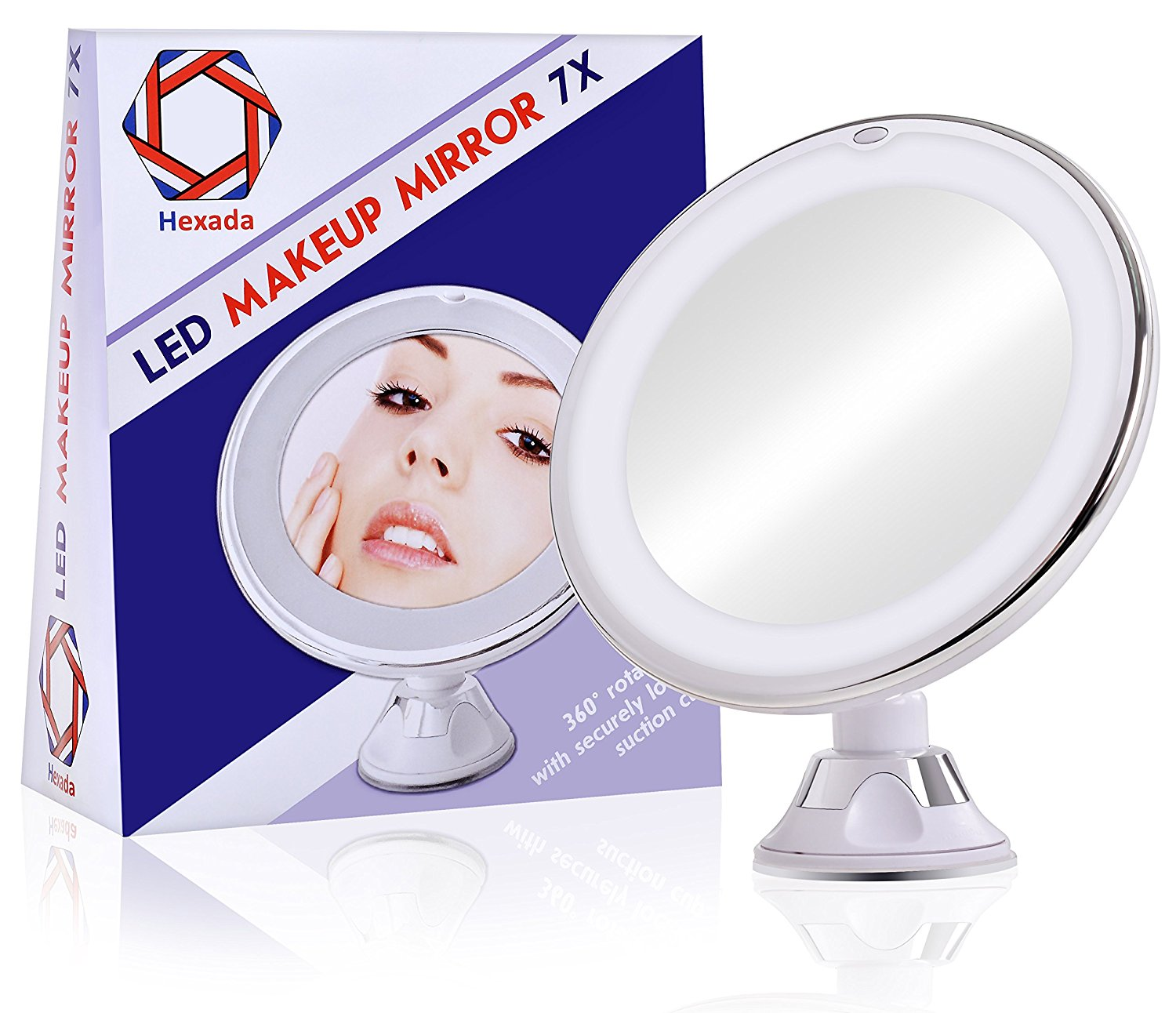 Best Lighted Vanity Mirror-Hexada Bright LED Mirror