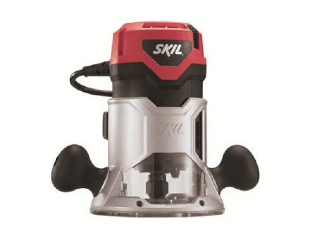 Wood Router Reviews-Skil Fixed-Base Router w/ Soft Start 1817