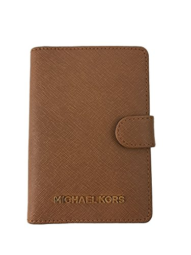 Best Passport Holder-Michael Kors Leather Passport Wallet