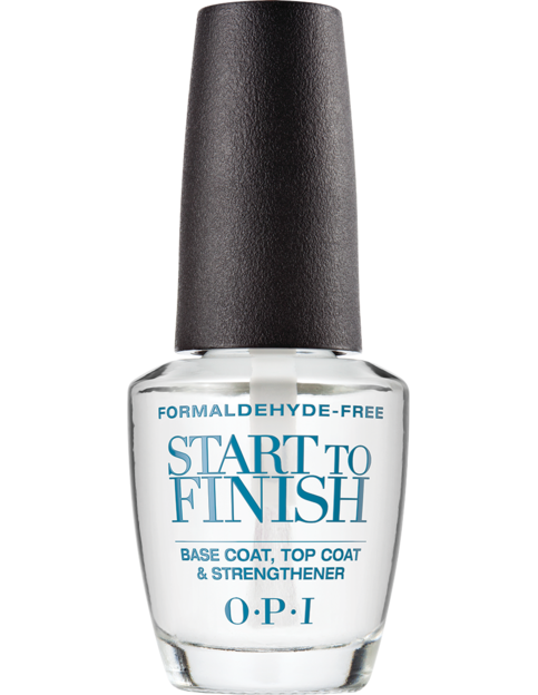 Best Nail Strengthener-OPI Start to Finish