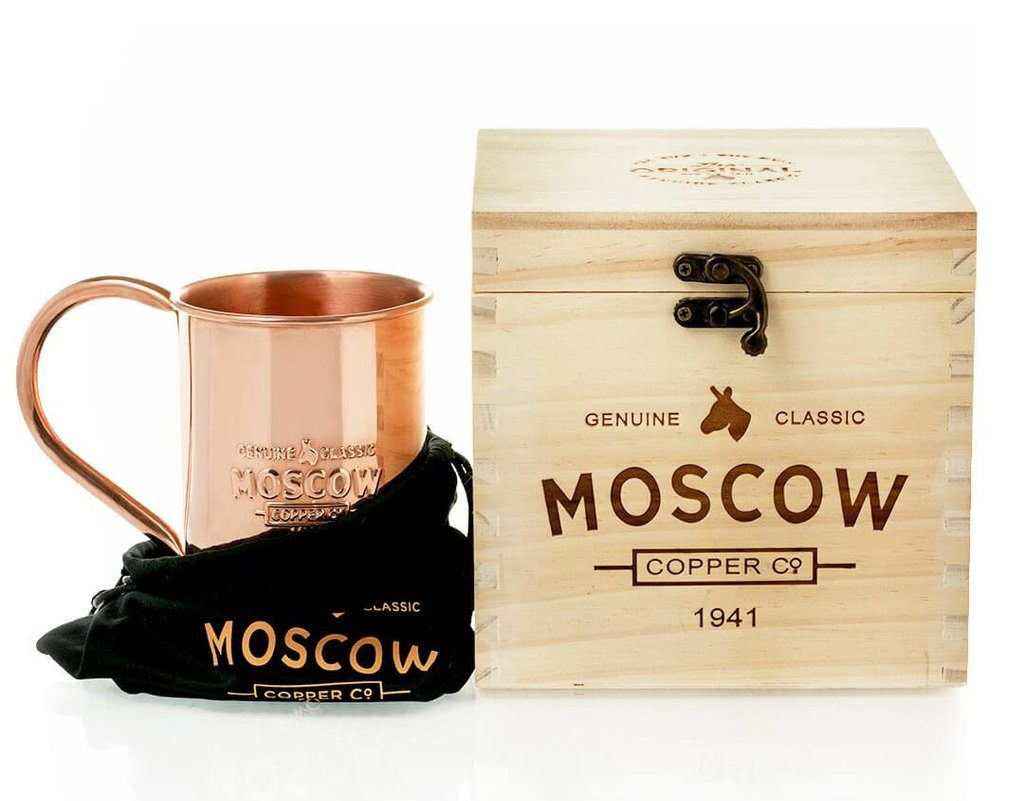 Best Copper Mule Mugs-The Original 100% Pure Copper Mug by Moscow Copper Company