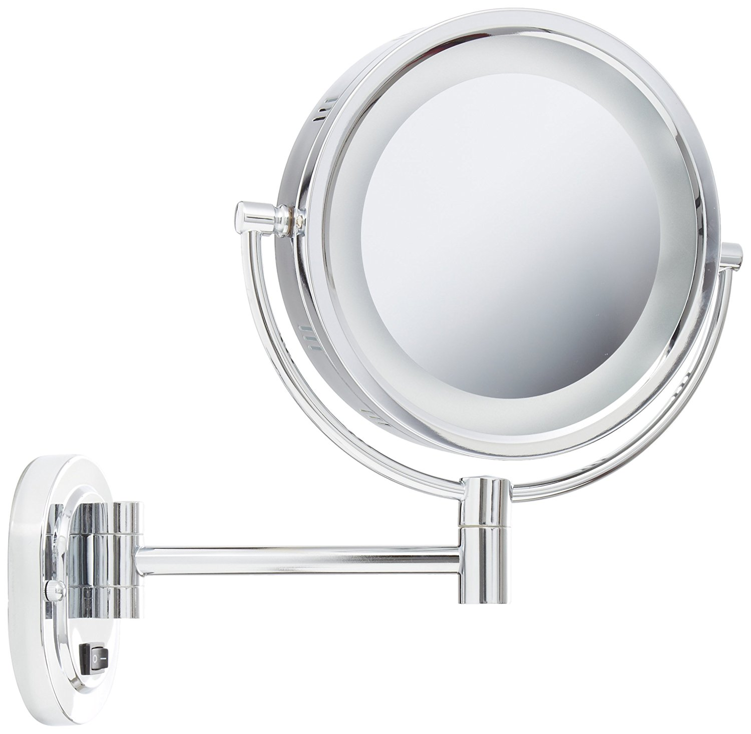 Best Lighted Vanity Mirror-Jerdon HL165CD Wall Mount Makeup Mirror