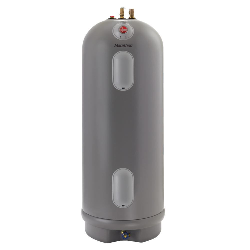 Electric Water Heater Reviews-Rheem Marathon 50-Gallon Lifetime Warranty Electric Water Heater