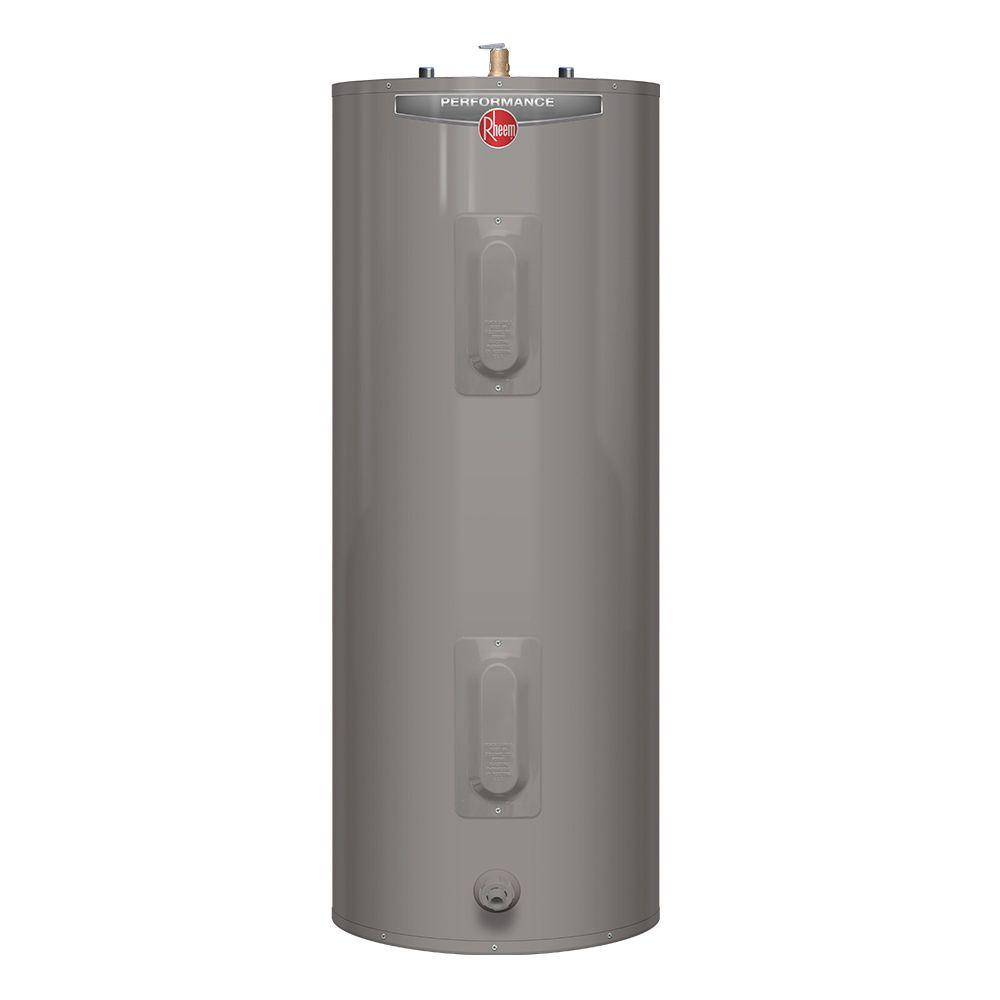 Electric Water Heater Review-Rheem Performance 30-Gallon 6-Year Tall Electric Water Heater