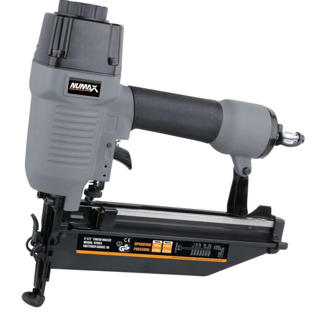 Best Framing Nailer - NuMax SFN64 Straight Finish Nailer