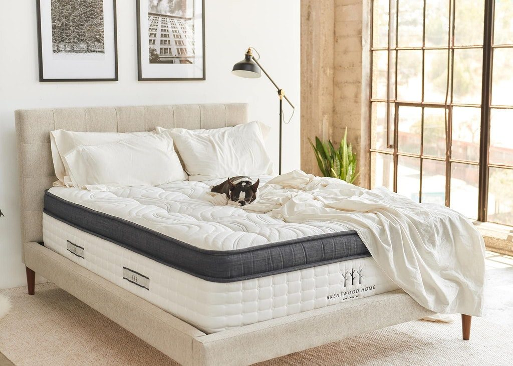 Best Mattress 2018 - Brentwood Home Oceano Mattress