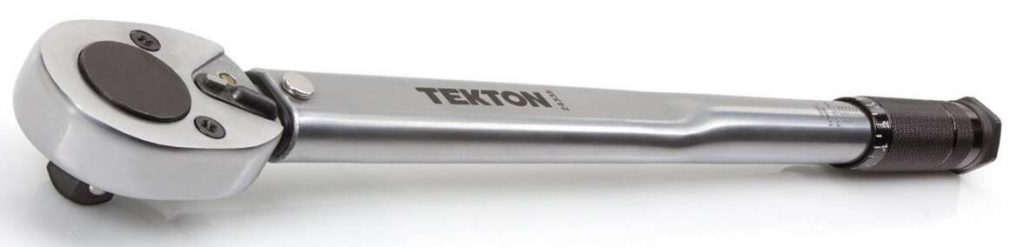 Best Torque Wrenches - 1. Tekton 24340 1-2-Inch Drive Click Torque Wrench