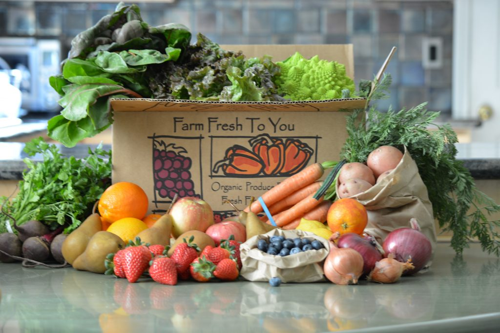 Food Subscription Box - Farm Fresh To You