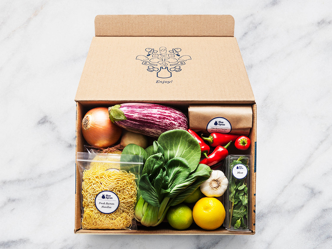 Food Subscription Box - Blue Apron