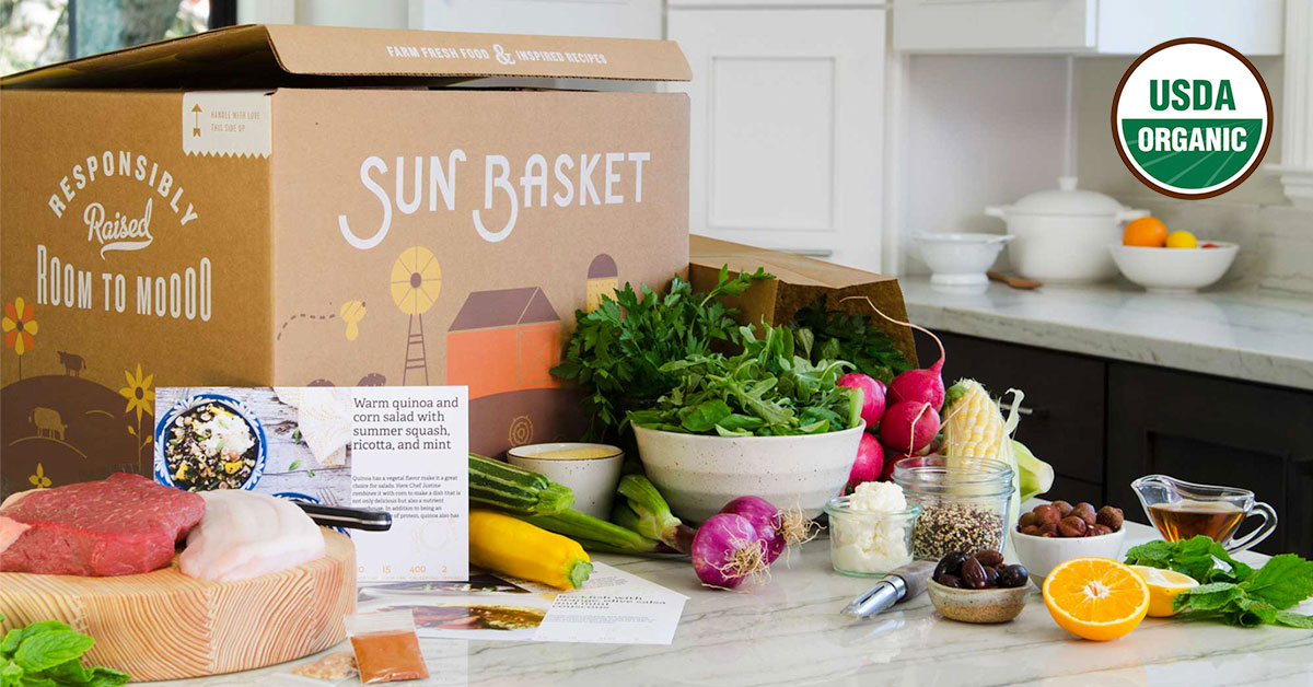 Food Subscription Box - Sun Basket