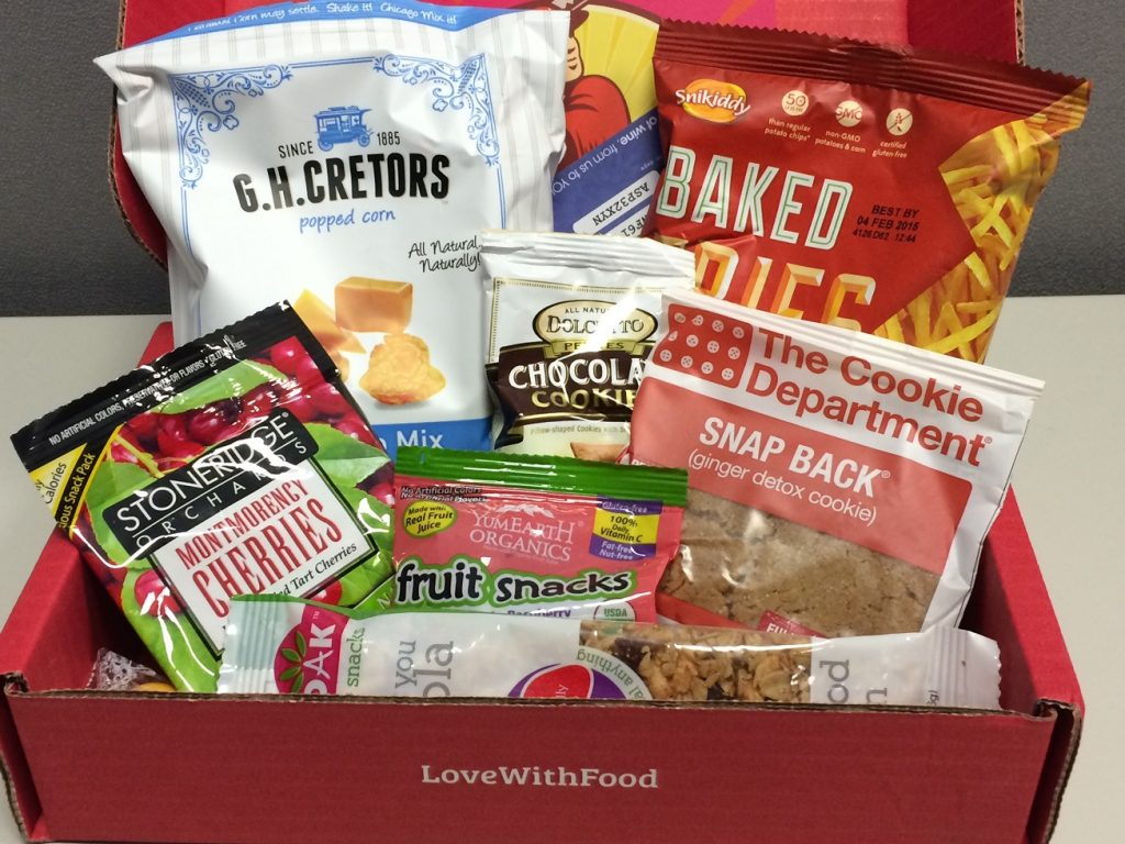 Food Subscription Box - Love With Food