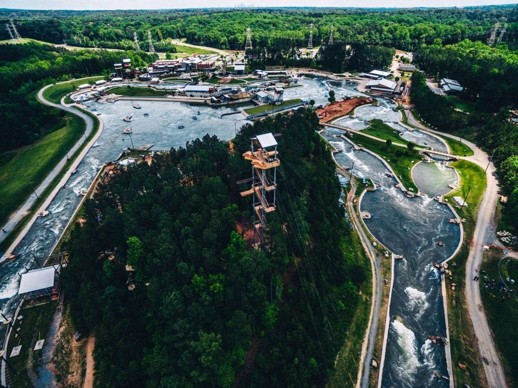 1. US National Whitewater Center - Things to do in Charlotte NC