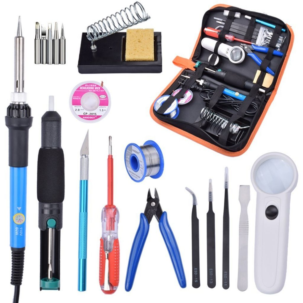 10. Handskit Soldering Kit (21-in-1) - Best Soldering Iron